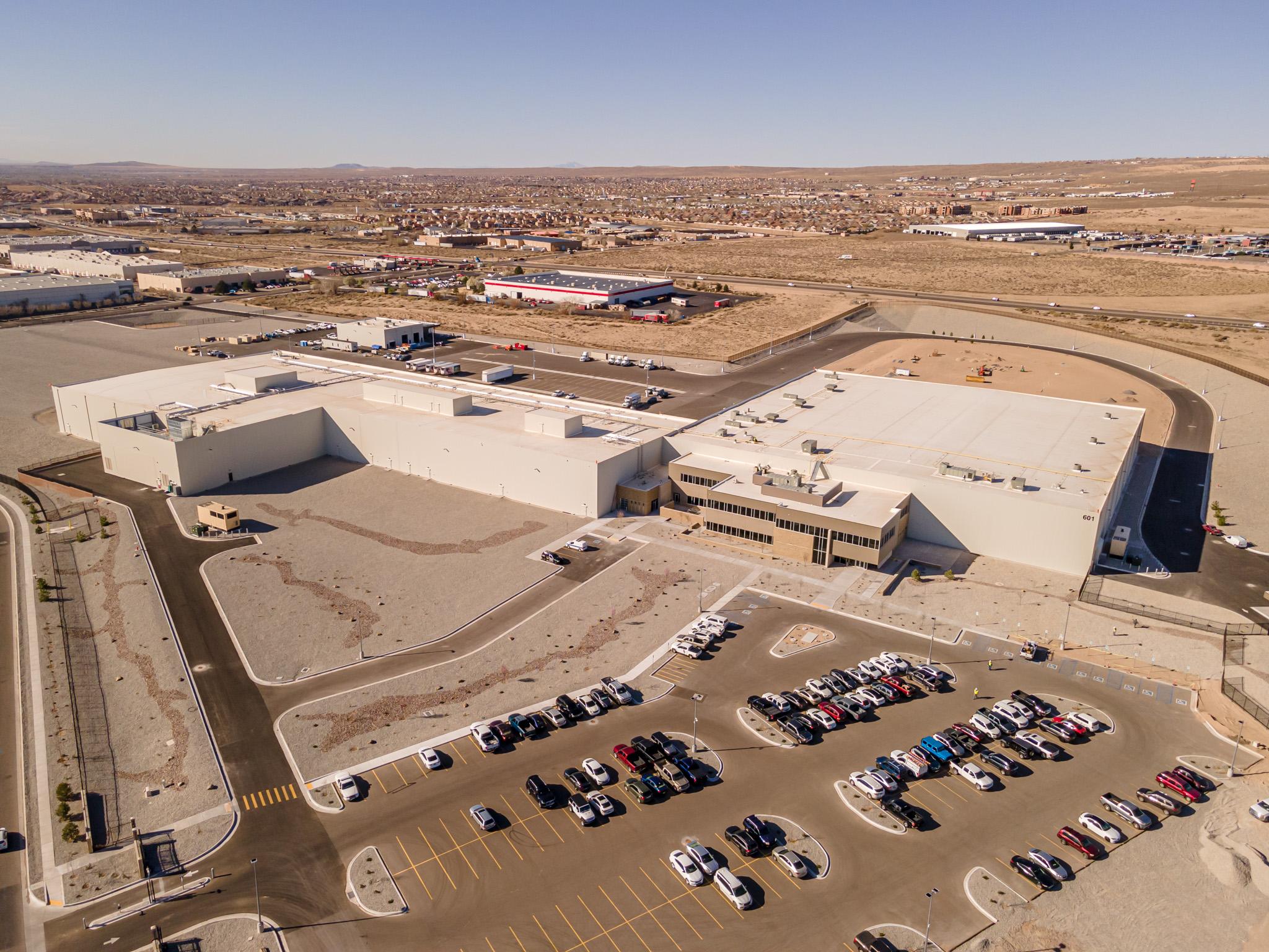 Food Distribution Center in Albuquerque, New Mexico