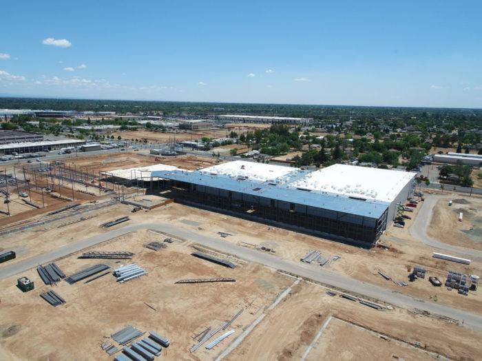 Food Distribution Facility Construction